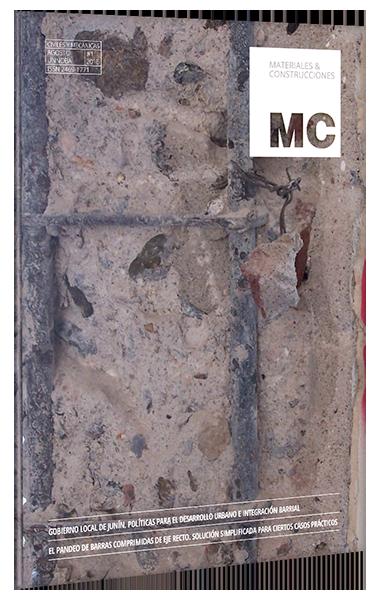 Revista Materiales y Construcción